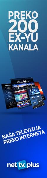 Gledaj više od 200 ex-Yu kanala bilo gde u svetu! Omiljene serije, filmove, emisije i utakmice možeš da pratiš na čak 6 uređaja za 1 pretplatu i to bez ugovorne obaveze! Kanale možeš gledati uživo ili unazad 7 dana gde god da se nalaziš! Potrebno je samo da imaš internet konekciju i preuzmeš našu aplikaciju za neki od uređaja: laptop ili desktop kompjuter, smartphone, tablet ili ipad, Smart TV!