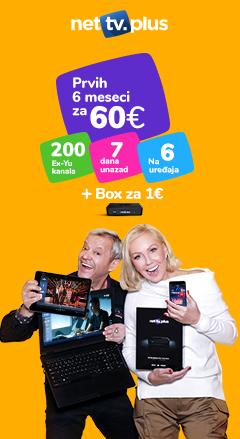 Gledajte preko 200 ex YU TV kanala, uživo! Ne propustite više ni jednu omiljenu seriju, utakmicu ili film. Kod kuće, na poslu, na putovanju... Konektujte se na internet i uživajte! Ponesite Vaše omiljene TV kanale bilo gde sa sobom uz pomoć NetTv Plus aplikacije za Vaš iPhone/iPad, Android telefon ili tablet. Gledaj besplatno najbolje domaće kanale.