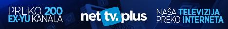 Gledajte preko 200 ex YU TV kanala, uûivo! Ne propustite viöe ni jednu omiljenu seriju, utakmicu ili film. Kod kuÊe, na poslu, na putovanju... Konektujte se na internet i uûivajte! Ponesite Vaöe omiljene TV kanale bilo gde sa sobom uz pomoÊ NetTv Plus aplikacije za Vaö iPhone/iPad, Android telefon ili tablet. Gledaj besplatno najbolje domaÊe kanale.